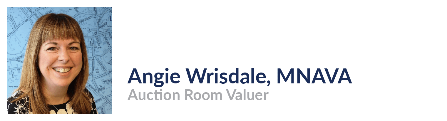 Angie Wrisdale, Auction Room Valuer, John Taylors Estate Agents and Auctioneers
