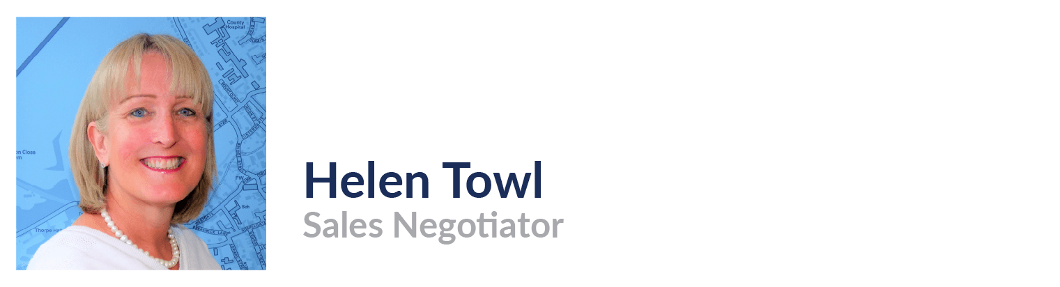 Helen Towl, Sales Negotiator, John Taylors Estate Agents and Auctioneers